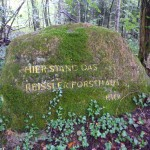 Ri197 hier stand das Reissler-Forsthaus