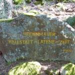 Ri280 Heidenmauer - Hallstadt - Latene - Zeit